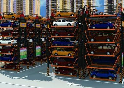 smart parking system.